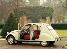 Citroen 2CV- my first car. would'nt start in winter, but for the summer it was just great