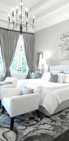 Weißes Schlafzimmer Gestalten