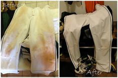 Get grass/dirt stains out of pants