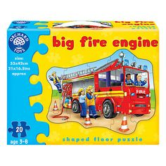 Buy Orchard Toys Big Fire Engine Puzzle Online at johnlewis.com