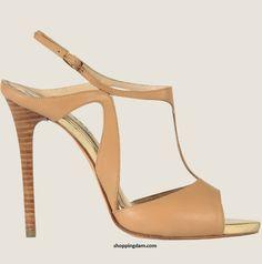 Elie Saab Elegant Shoes Spring/Summer 2012-Cream