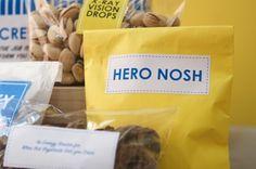 Super Hero foods