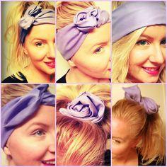 Wired Twist Headband Scarf Handmade Fabric Many by emmaflhair