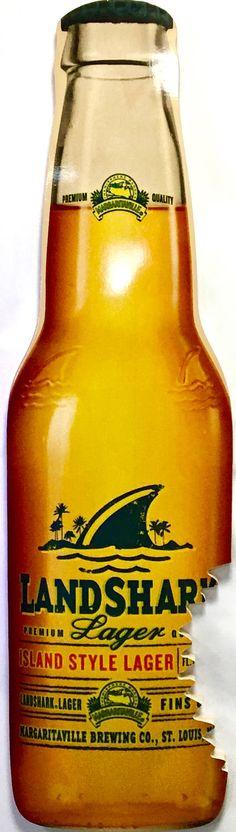 "19/"" x 3.75/"" Corona Beer Sunburst Small Shark Bite Surfboard Sign"
