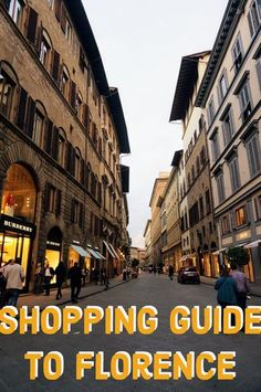 shopping guide to the best of Florence, Italy. What to buy in Florence including ceramics, gold, art, shoes, leather, and more. souvenirs.