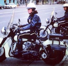 Los Angeles Police Department Harley Davidson