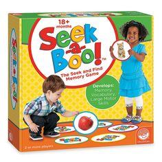 Seek-a-Boo! - MindWare.com Attention visuelle et balayage visuel: repérer des images Communication: vocabulaire