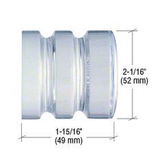 Allied Brass P1000-41-BB-30-GYM Prestige Skyline Collection 30 Inch Back Shower Door Towel Bar Matte Gray