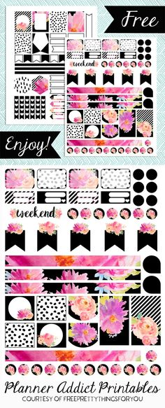 Free Planner Addict Printables- Fuchsia Chic 2019 Free Planner Addict Printables- Fuchsia Chic Free Pretty Things For You The post Free Planner Addict Printables- Fuchsia Chic 2019 appeared first on Scrapbook Diy. Planner 2018, To Do Planner, Free Planner, Happy Planner, Blog Planner, Printable Planner Stickers, Free Printables, Planner Organization, Planners