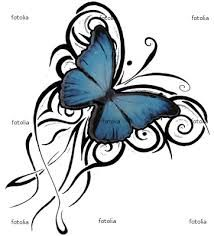 Image result for butterfly tattoo designs