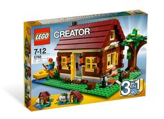 Compare prices on LEGO Creator Log Cabin from top online retailers. Save money on your favorite LEGO figures, accessories, and sets. Lego Creator Sets, The Creator, Mega Pokemon, S Brick, Buy Lego, Shop Lego, Red Roof, Lego Worlds, Lego Friends