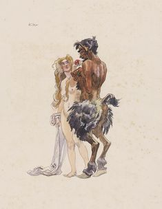 Some extraordinary Heinrich Kley pieces were offered and sold recently at Kunkel Fine Art. Museum Hannover, Art Sketches, Art Drawings, Wilhelm Busch, Antique Illustration, Surreal Art, Erotic Art, Art Inspo, Art Reference
