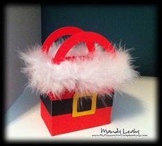 Treat/gift card bag by Mandy Leahy with Art Philosophy Cricut cartridge