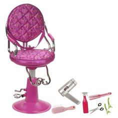 Our Generation Salon Chair (hot Pink)