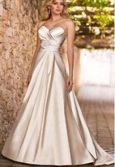 Taffeta Sweetheart A-Line Hot Sell 2 in 1 Wedding Gown with Ruched Bust