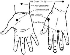 Acupressure for Cold and Flu Symptoms