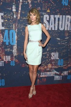 Pin for Later: Anyone Who's Anyone Was at the SNL 40th Anniversary Celebration Taylor Swift