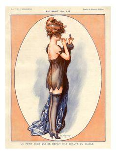 La Vie Parisienne, Maurice Milliere, 1920, France Print at Art.com