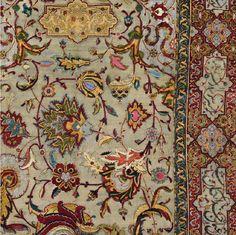 "manappreciation: "" timur-i-lang: "" Safavid carpet, 16th c. GORGEOUS. "" """