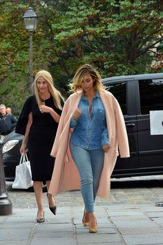 Kim Kardashian - Kim Kardashian Heads to Lunch in Paris