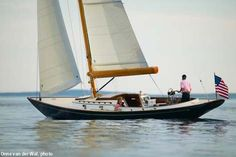 Morris M36 daysailer. A serious favorite and a nearly perfect design to my eye. Yar!