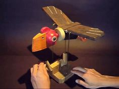 Roberto Lou Ma pelican automaton from https://www.youtube.com/watch?v=MIBOQ9_GtE4