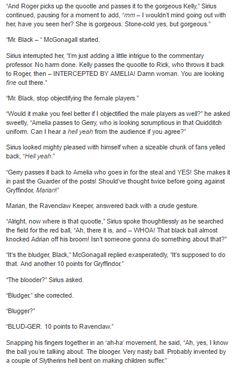 The Marauders and McGonagall - Quidditch  part 4/5