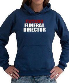 Future Funeral Director Women Hoodie