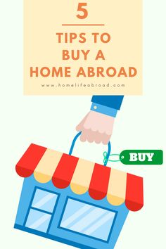 5 Tips to Buy a Home Abroad @homelifeabroad  Buying a home abroad is challenging - check out our 5 best tips from our own experience as expats!   #expatlife #buyingahome #homeabroad