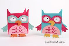 From Owl Box to Owl Card | Under A Cherry Tree