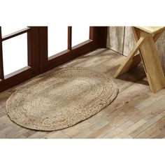 Jute Rug - Oval Natural Jute Rugs - Jute Rugs at Your Western Decor