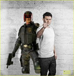 : Photo Karl Urban suits up for a photo call to promote his new film Dredd on Monday (September at the Hotel ME in Madrid, Spain. Karl Urban Dredd, Dredd 2012, Karl Urban Movies, Mens Health Uk, Urban Pictures, Love To Meet, Best Actor, Future Husband, The Man