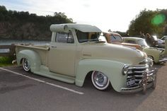 1952 Chevrolet (Chevy) 3100 1/2 ton Pick Up Truck.
