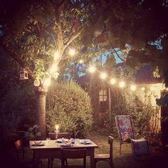 Jardin au style guinguette / Garden