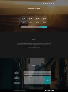 Coming Soon Page on Behance
