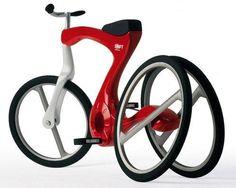 O bicicleta mai sofisticata! Un prototip pentru viitor!