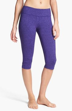 Zella 'Live In' Cross Dye Capri Leggings $48.00 Item #589122 - purple ease cross dye