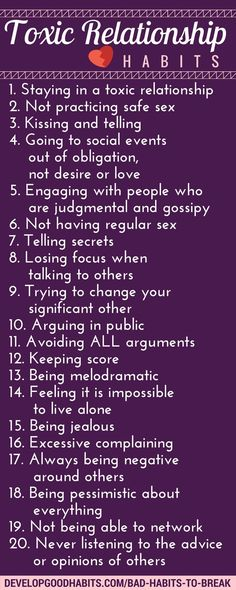 improper seeing habits