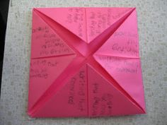 Going to use these...the kids love to make them! Why not use them for learning??? Foldables