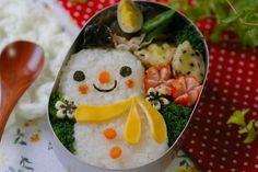 snowman #bento #kids #lunch