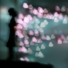 love follows her wherever she goes