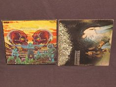 STEPPENWOLF 2 LP RECORD ALBUMS LOT COLLECTION Monster & 7 CANADA ROCK BAND