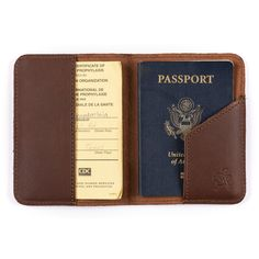 Saddleback Leather Passport Sleeve in Chestnut: Clothing Sewing Leather, Leather Craft, Saddleback Leather, Leather Working Patterns, Leather Sketchbook, Leather Passport Wallet, Leather Folder, Leather Gifts, Passport Cover