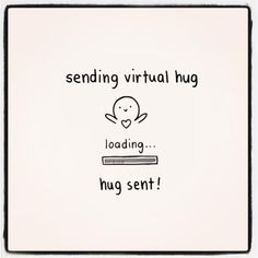 Zending virtual hug for you
