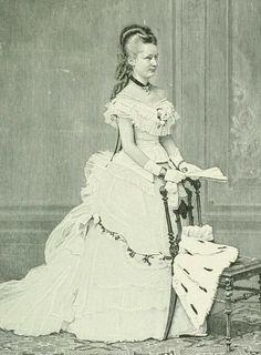 Augusta Viktoria circa 1873