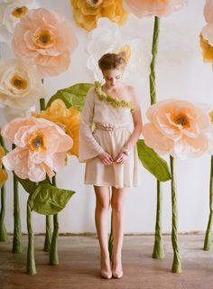 Giant flowers - LOVE!