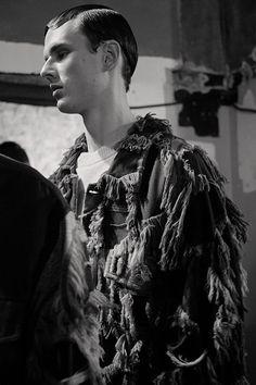LCF MA Menswear: Emma Fenton Villar AW15. See more here: http://www.dazeddigital.com/fashion/article/23136/1/london-college-of-fashion-ma-menswear