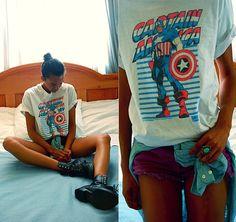 Marvel (by Luna Nova) http://lookbook.nu/look/3677249-Marvel