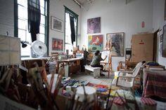 painting studio - Google Search