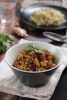 Dal de pois cassés au quinoa